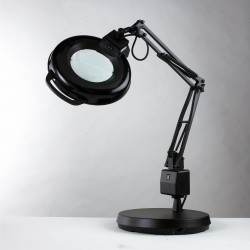 "7126 | 5-Diopter Lens Fluorescent Magnifier 30"" Reach with Weighted Base -7126 